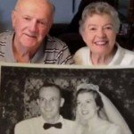 Couple Eats 60-Year-Old Wedding Cake On Their Anniversary