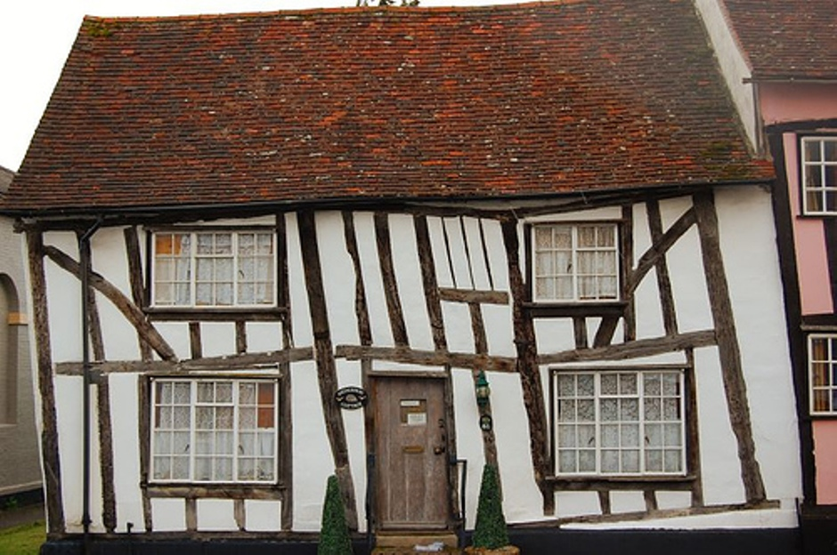 The Crooked Houses Of Englands Lavenham