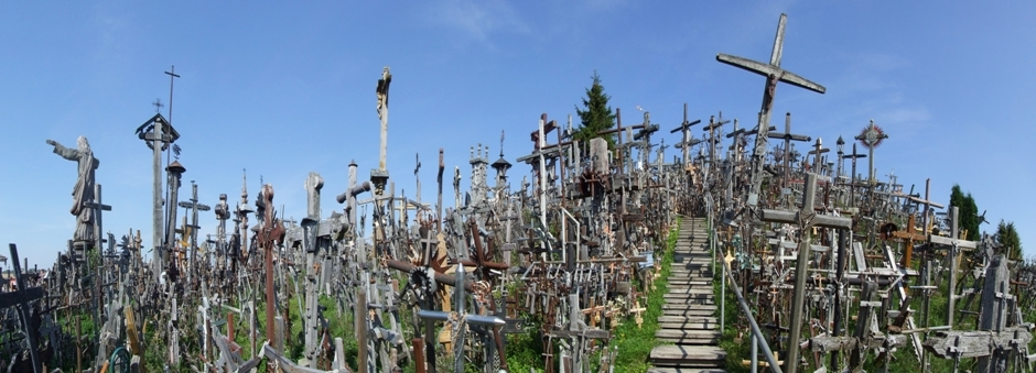 The Haunting Hill Of Crosses In Lithuania