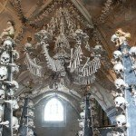 Church Made Up Of Skulls And Bones