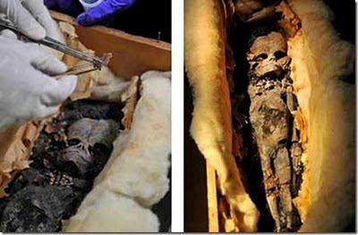 Discovery Of The Unusual Mummy
