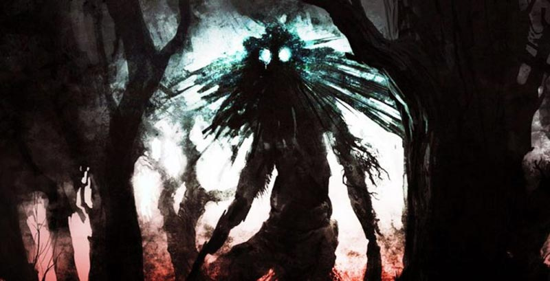 The Mothman In The Dark