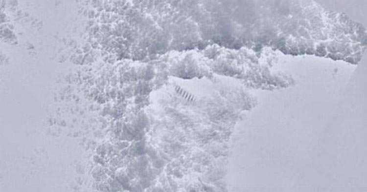 Snow Staircase Found In Antarctica