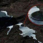 The Southern Pole Of Antarctica Covers Alien Ship Under Her White Bed Sheet