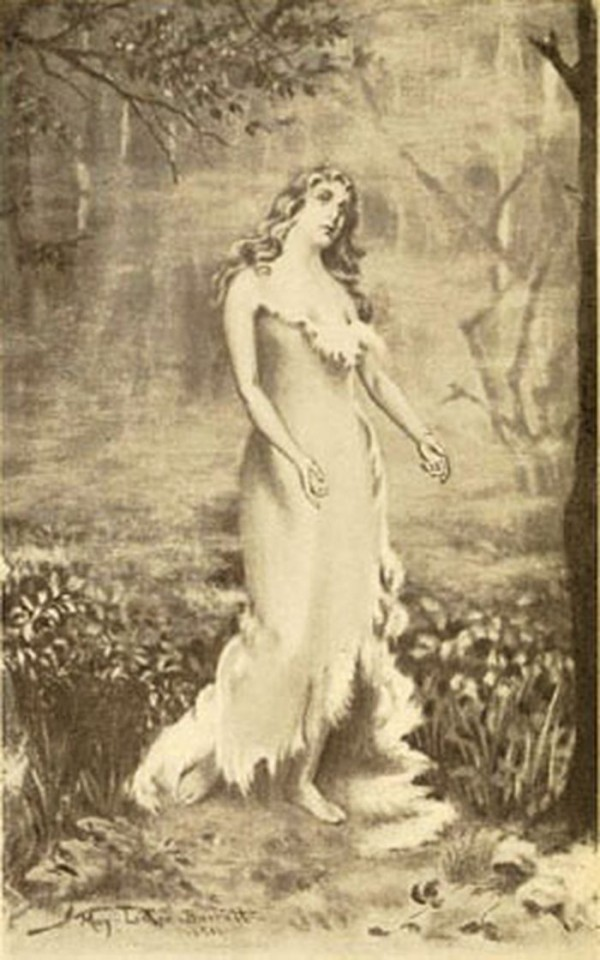 Virginia Dare As A Young Woman