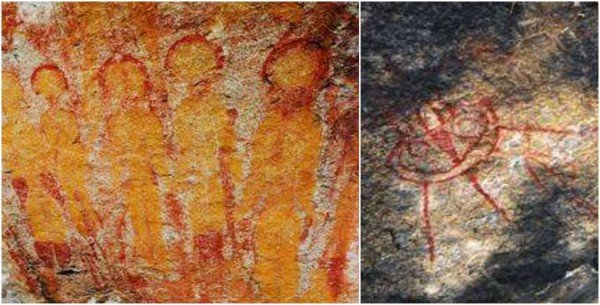 Cave Paintings Of Charama