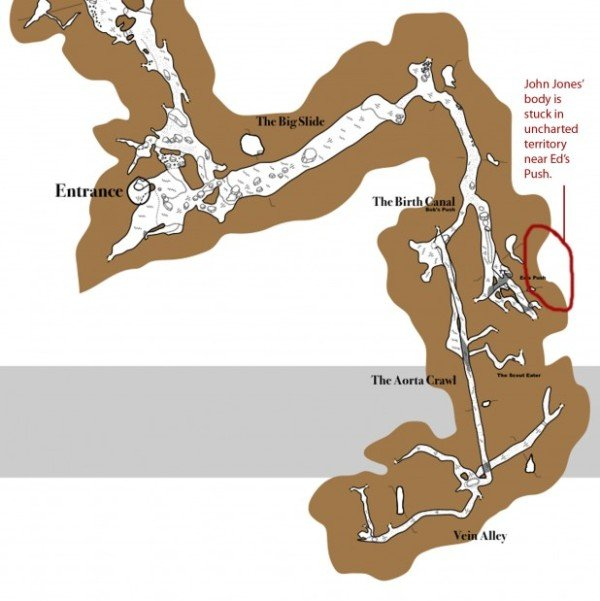Nutty Putty Cave Map