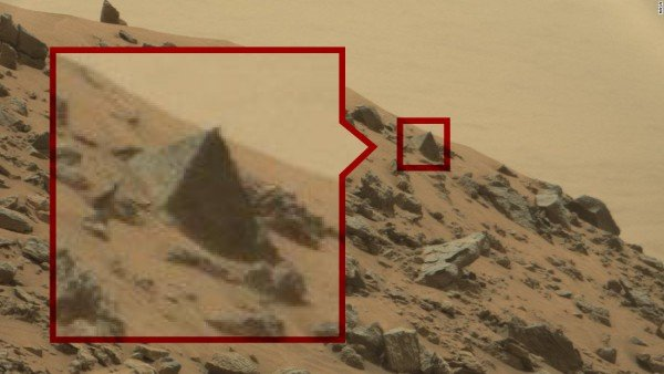 Possible Signs Of Alien Life On Mars