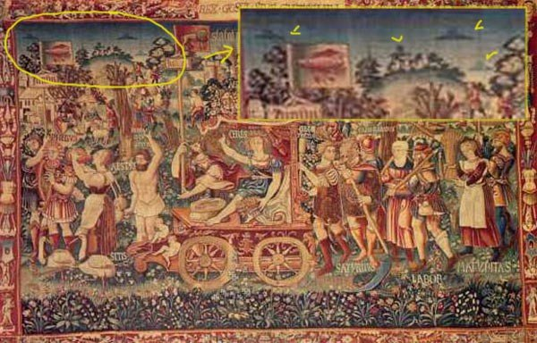 Triumph Of Summer Tapestry