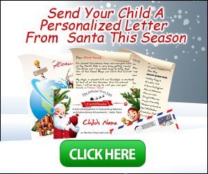 Get Personalized Letters From Santa